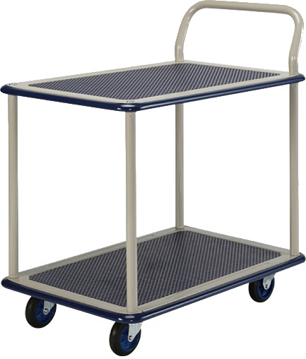 Prestar Double Deck Single Handle Trolley NB114