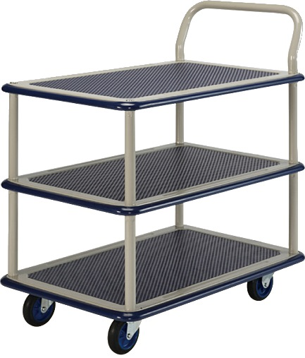 Prestar Triple Deck Single Handle Trolley NB115