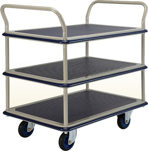 Eezee Prestar 3-Tier 2 Handle Trolley NF305