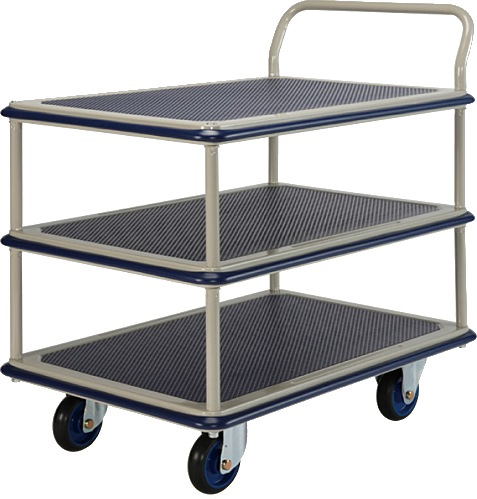 Prestar Triple Deck Single Handle Trolley NF315