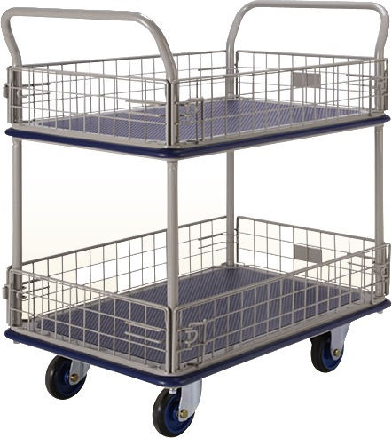 Prestar Double Deck Side Net Trolley NF327