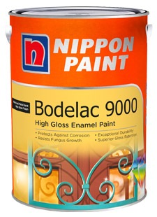 NIPPON PAINT BODELAC 9000 1L [61 COLOURS]