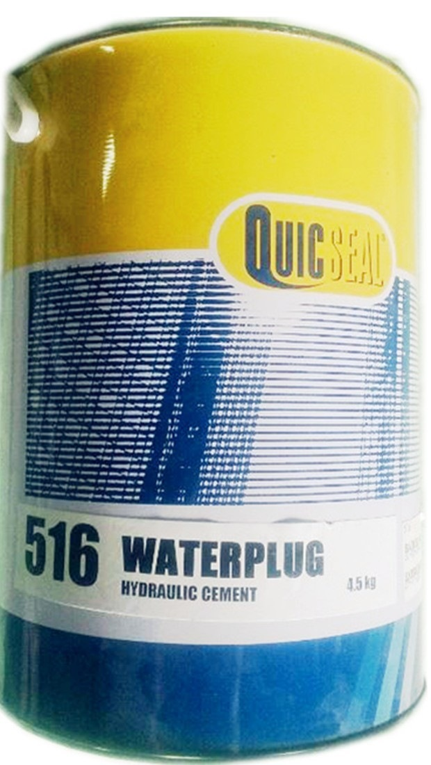 Quicseal 516 Waterplug-4.5kg Hydraulic Cement