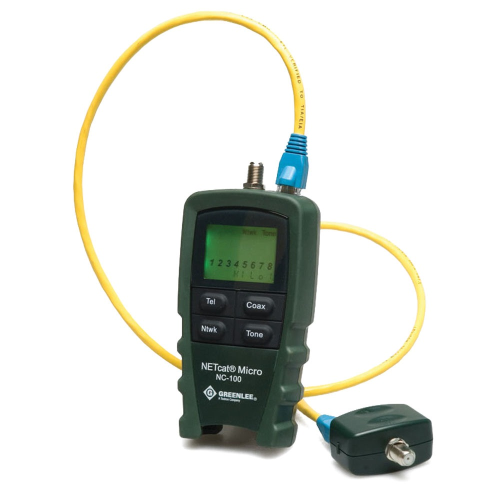 Greenlee Lan Cable Tester Nc-100