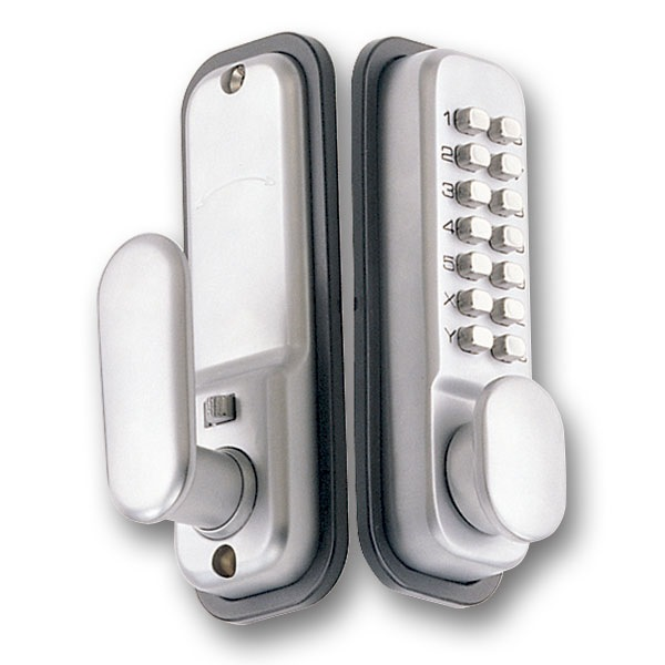 Yank Push Button Door Lock NK2100-SC
