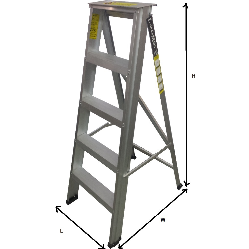 Laddermenn Aluminium a Frame Ladder Hd Series