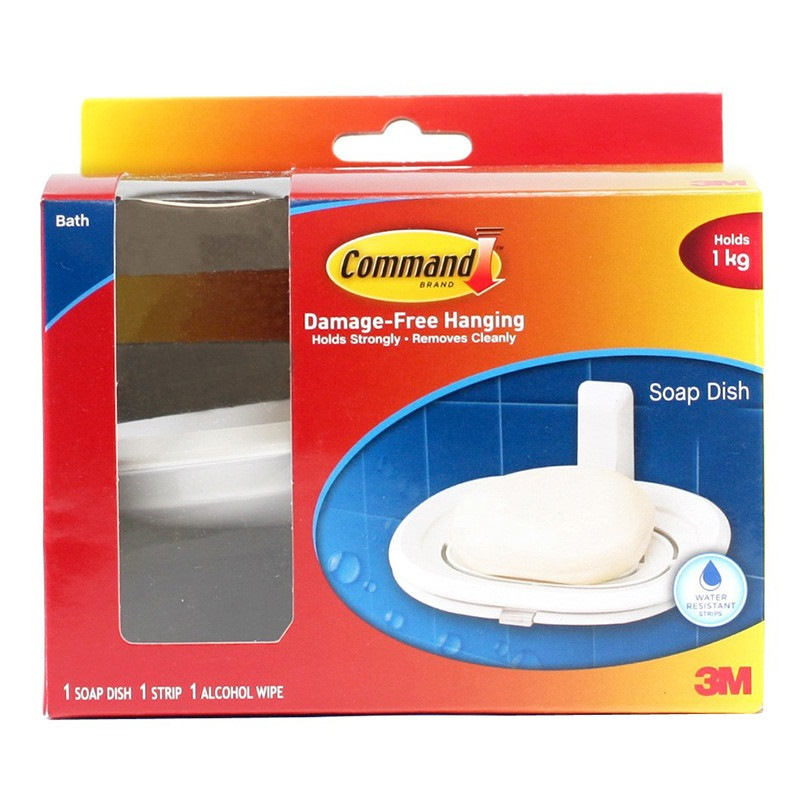 3m Command Bath Soap Dish 17622B
