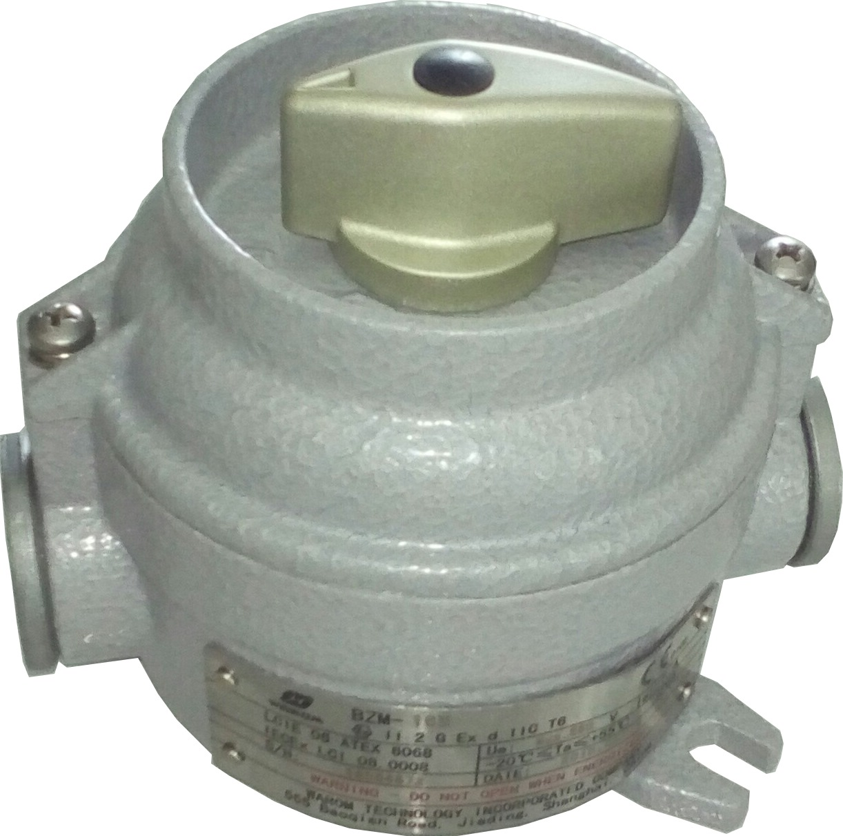 Warom On/off Switch BZM-16B - Explosion Proof