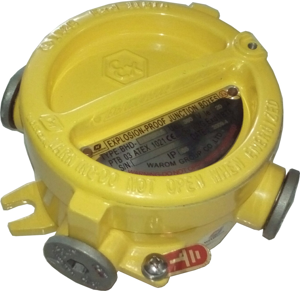 Warom Junction Box BHD51-D/M25 - Explosion Proof