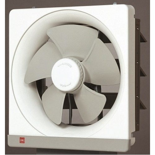 Kdk Wall Mount Metal Ventilating Fan, 25cm, 25ASB