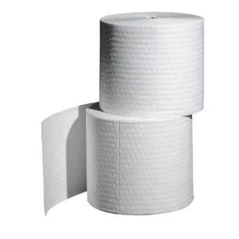 PIG OIL-ONLY SPILL ROLL-DOUBLE WEIGHT ( 2ROLLS/BAG ) NPCMAT425