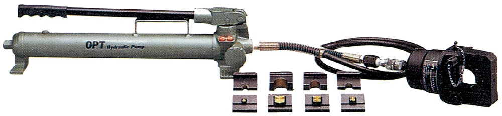 OPT HYDRAULIC CRIMPING TOOLS WITH DIES CO-400H