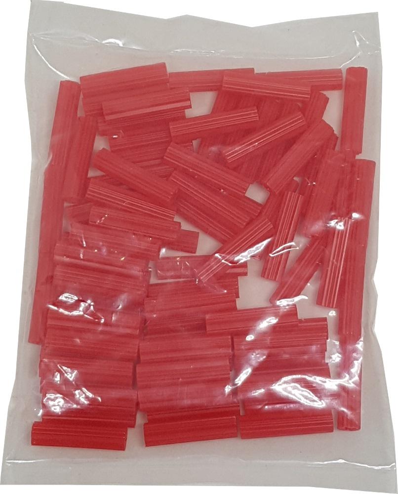 """PVC WALL PLUG 1"""" X 6MM (NO:10) RED 80 PCS / PACK"""