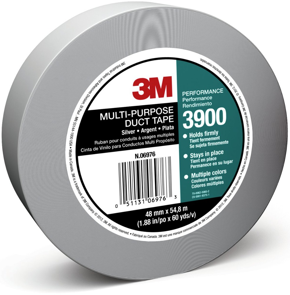 3M MULTI-PURPOSE DUCT TAPE 3900 48MM X 54.8M SILVER