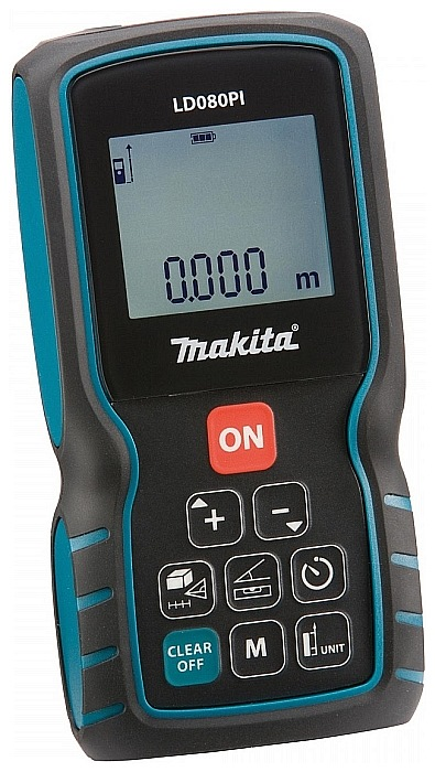 MAKITA LASER DISTANCE MEASURE LD080PI