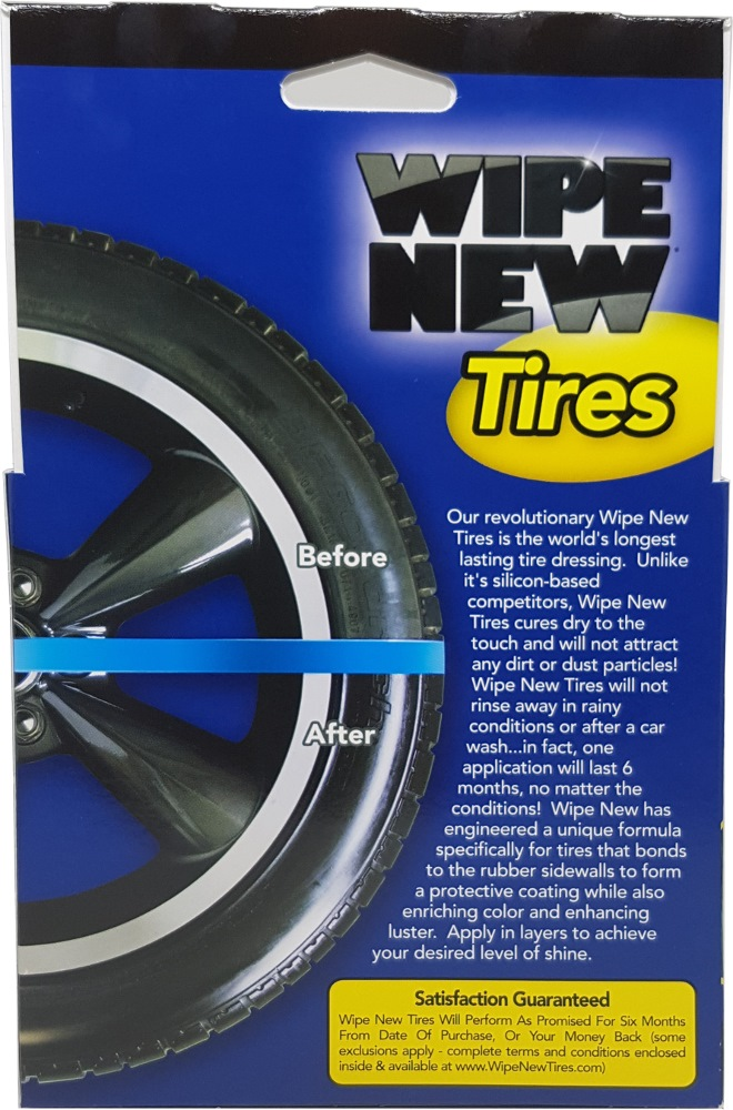 rust oleum wipe new tires tire maintenance