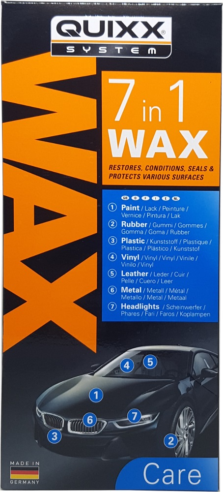 Quixx 7 in 1 Wax 500ml