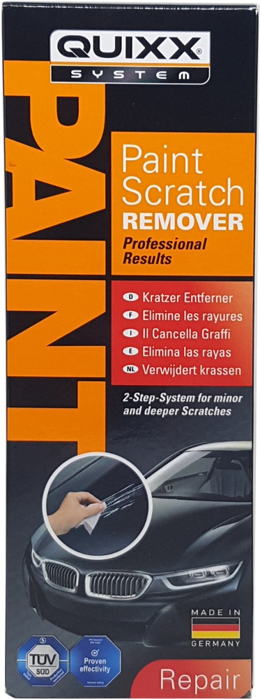 Quixx 2-Step Paint Scratch Remover