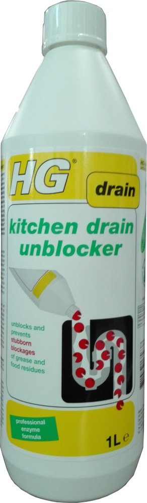 HG KITCHEN DRAIN UNBLOCKER - 1L HG481
