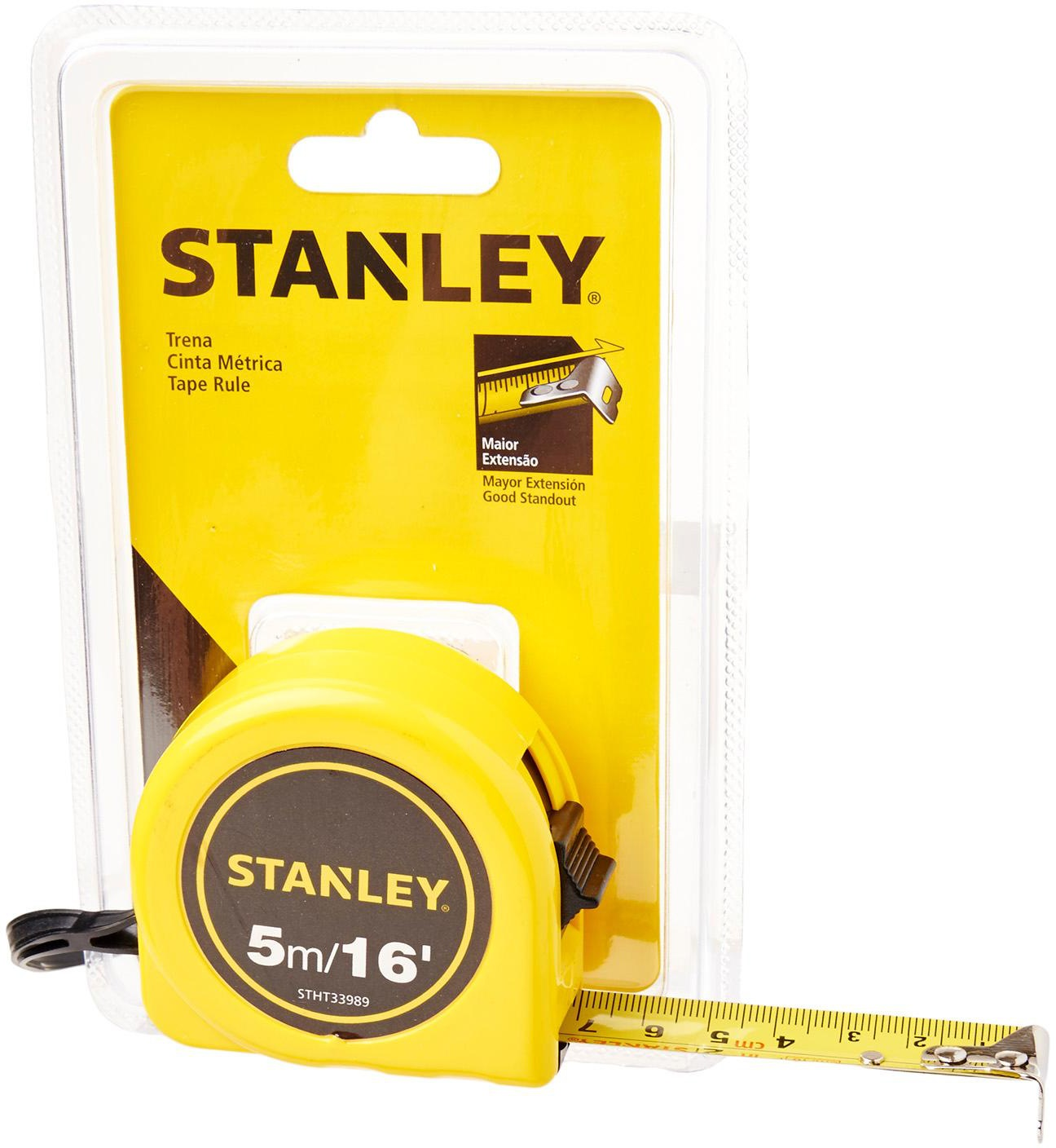 Stanley Basic Tape 5m/16ft 33989