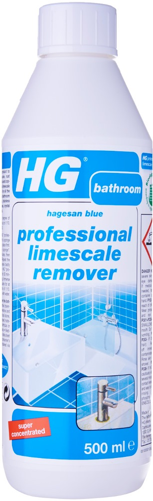 HG PROFESSIONAL LIMESCALE REMOVER (HAGESAN BLUE) 500ML HG100