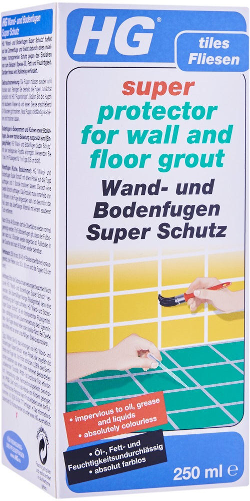 HG SUPER PROTECTOR FOR WALL & FLOOR GROUT HG244 - 250ML
