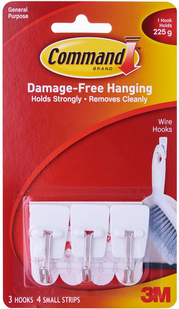 3m Command Small Wire Hooks - 17067ANZ