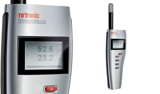 ROTRONIC TEMPERTURE & HUMIDITY HYGROPALM HP21