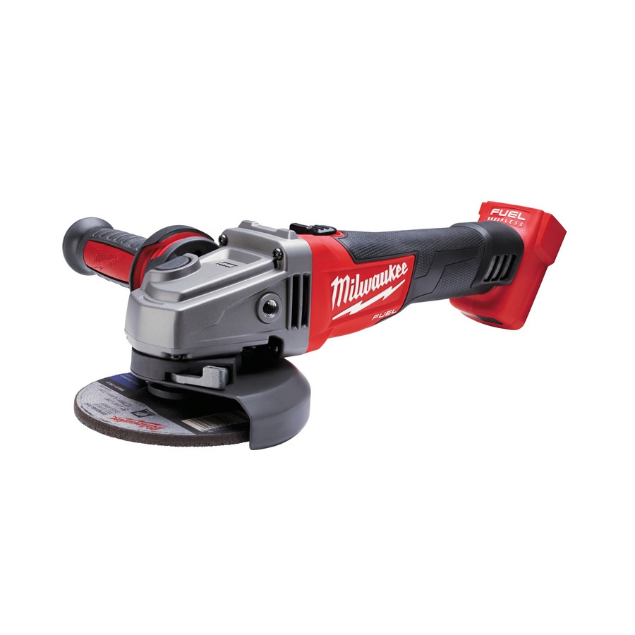 MILWAUKEE 18V LI-ION 125MM ANGLE GRINDER, M18CAG125X-0 (BARE UNIT)