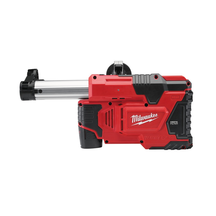 MILWAUKEE UNIVERSAL DRILL MOUNTED DUST EXTRACTOR- M12DE