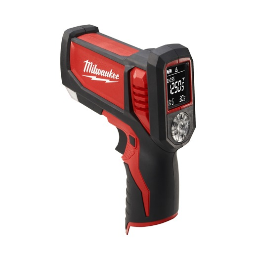 MILWAUKEE LASER TEMP GUN CORDLESS LI-ION 12V THERMOMETER 2277-20 (BARE UNIT)