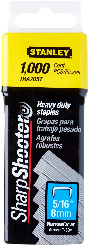 STANLEY STAPLE HD 5/16 1000PCS TRA705T