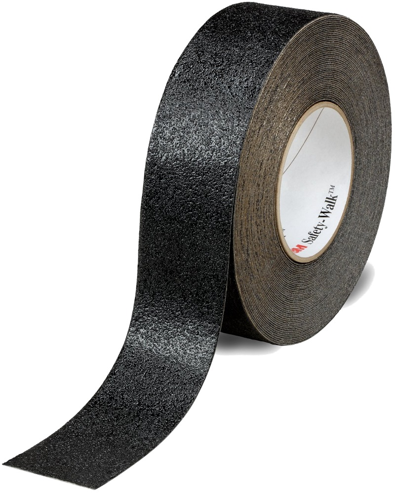 "3M SAFETY WALK CONFORMABLE TAPE BLACK 510 2""X60'"
