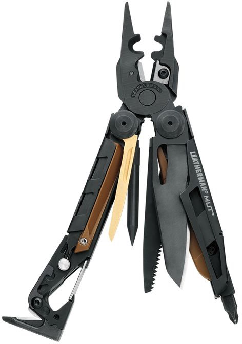 LEATHERMAN MUT EOD MULTI TOOL WITH MOLLE BLACK SHEATH