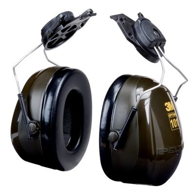 3m Peltor Optime 101 Cup-mount Earmuffs H7P3E