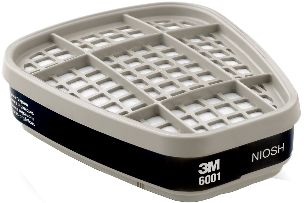 3m Organic Vapor Cartridge 6001 (1 Pair)