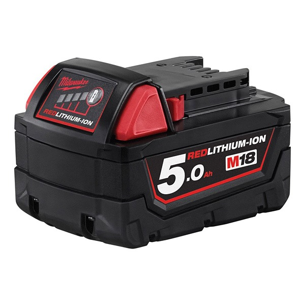 MILWAUKEE LI-ION BATTERY 18V 5.0AH- M18B5