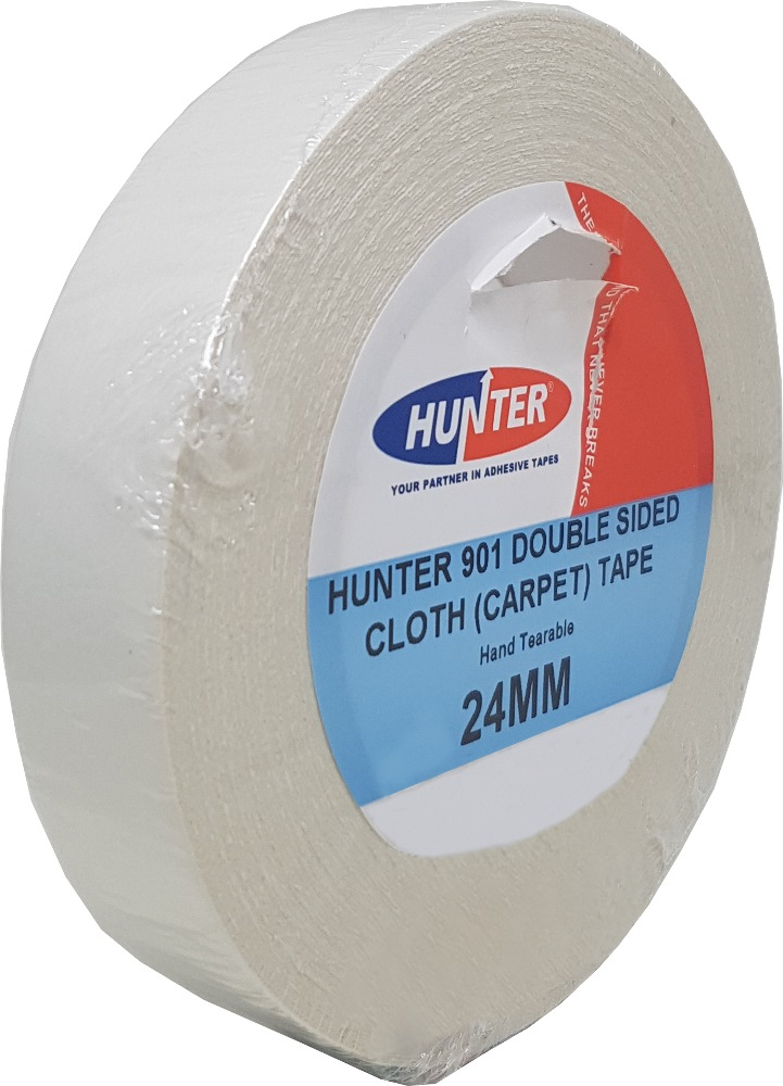 Hunter Double Sided Cloth Carpet Tape 901 (carton)