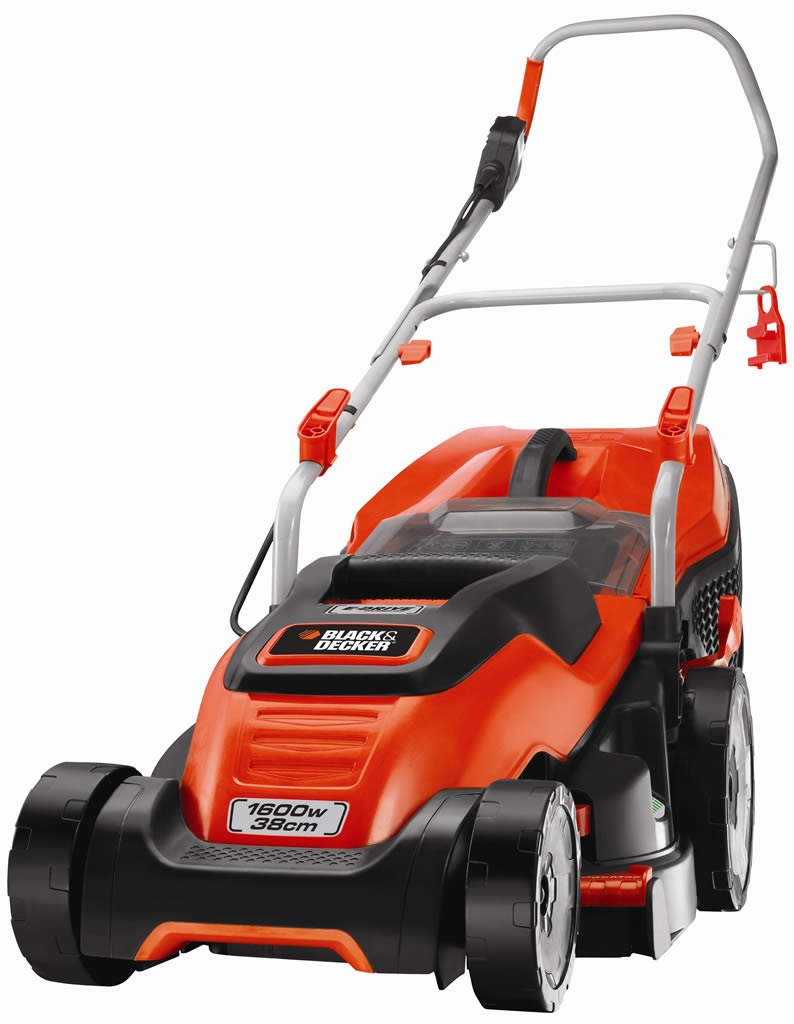 Black and Decker Rotary Lawn Mower 1600w, Emax38in