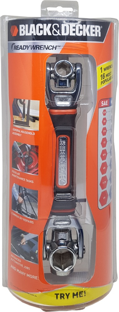Black and Decker Multi Socket Ready Wrench MSW100