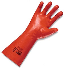 """ANSELL PVA ORGANIC SOLVENT GLOVE 14"""" 15-554 (KINT LINED)"""