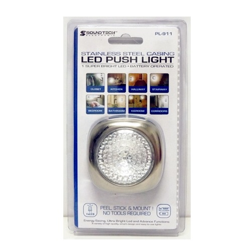 SOUNDTEOH LED PUSH LIGHT - PL911