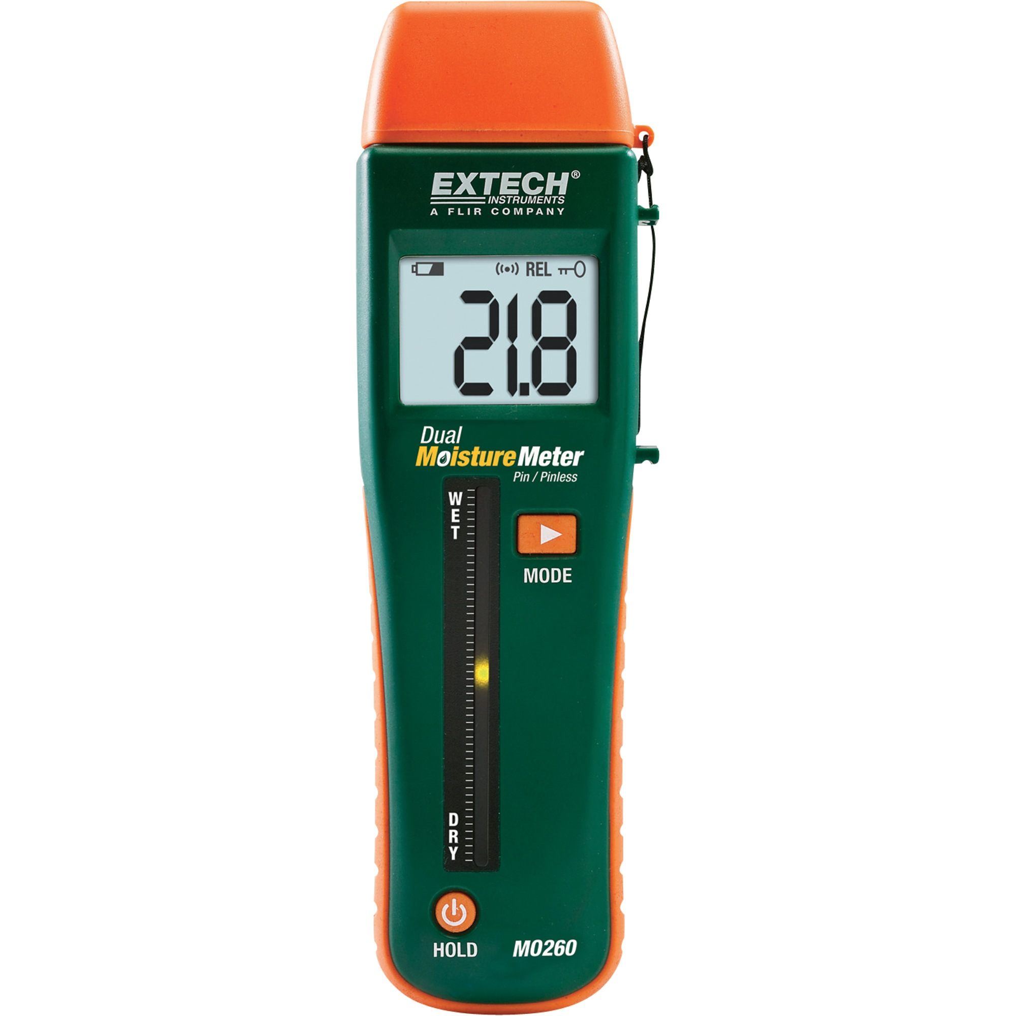 Extech Combination Pin/pinless Moisture Meter MO260