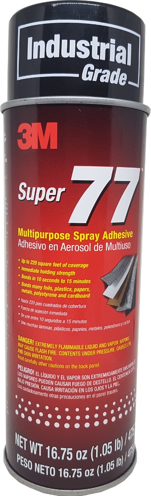 3m Super 77 Spray Adhesive 16.75oz / 475g