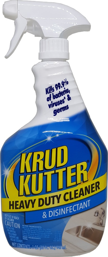 Rust Oleum Krud Kutter Spray Heavy Duty Cleaner & Disinfectant 298309 32oz