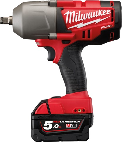 "MILWAUKEE BRUSHLESS 1/2"" DR.IMPACT WRENCH M18FIW12 (18V-5.0AH LI)"