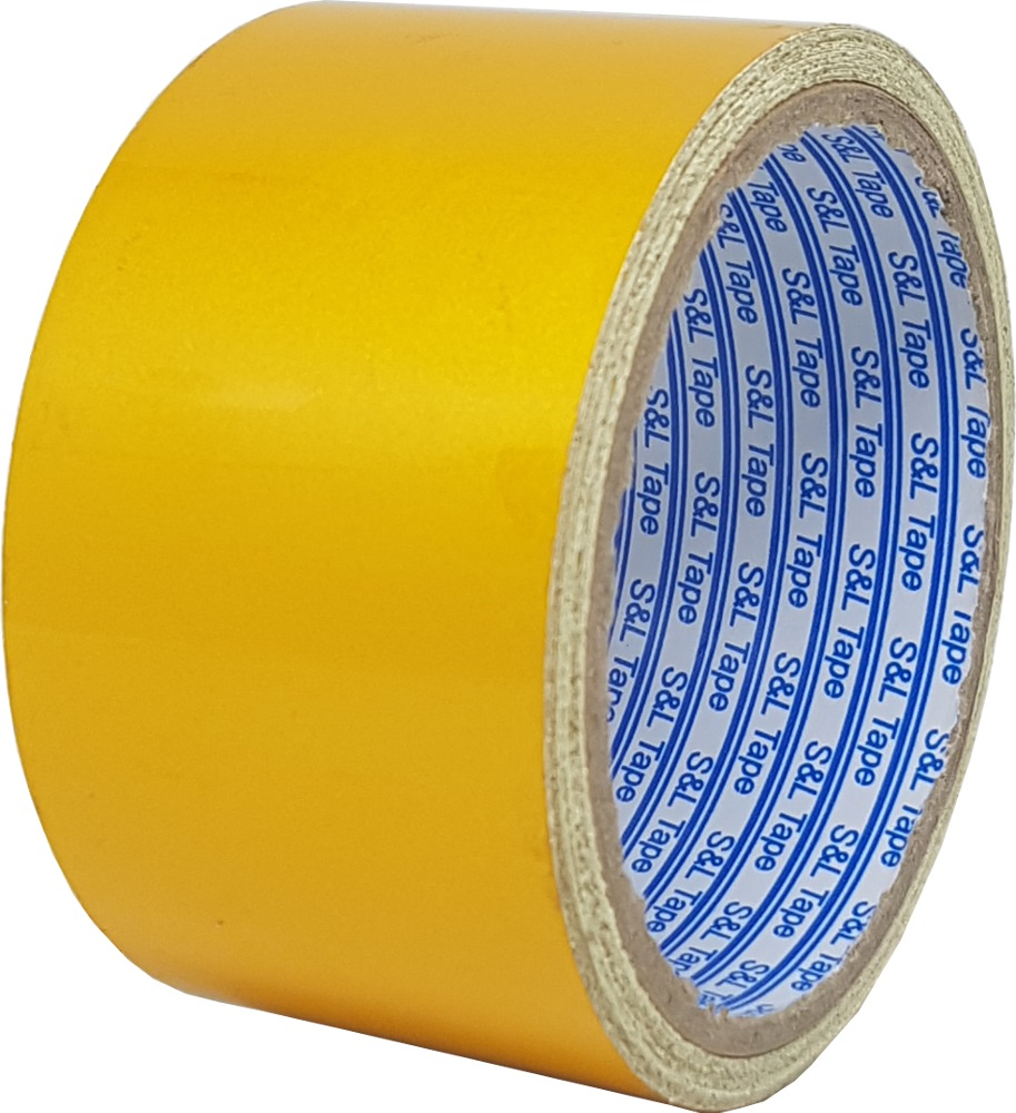 "SL REFLECTIVE TAPE YELLOW HIGH GRADE (2"") 50MMX5M - SL4612"