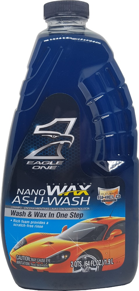 EAGLE ONE NANO WAX AS-U-WASH 64OZ