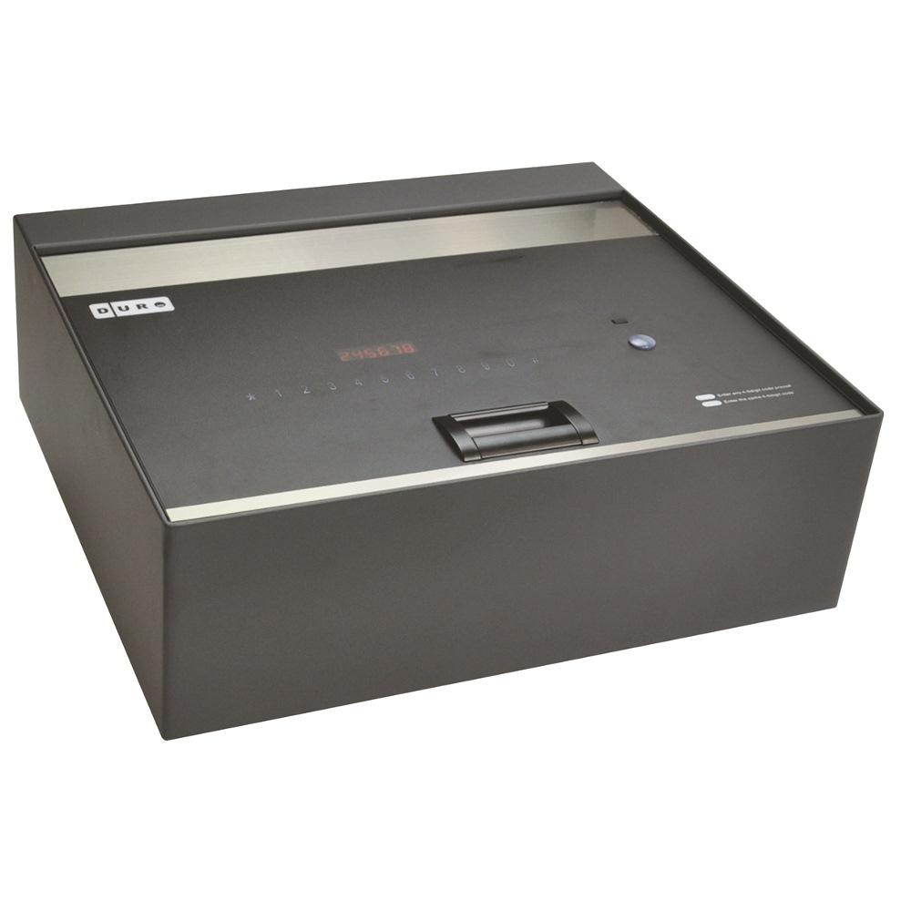 Duro Top Open Safe Box Art.155 10kg H13.0*w40.0*d35.0cm