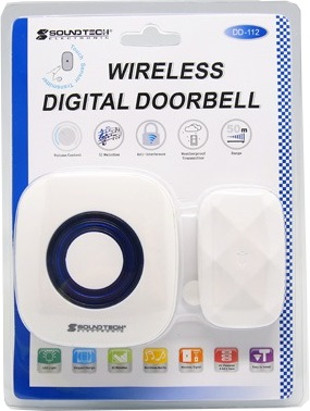 SOUNDTEOH DIGITAL WIRELESS DOORBELL DD-112